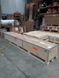 Magentic level packaged for shipment